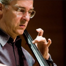 Cellist Charles Curtis at the New Music Miami Festival
