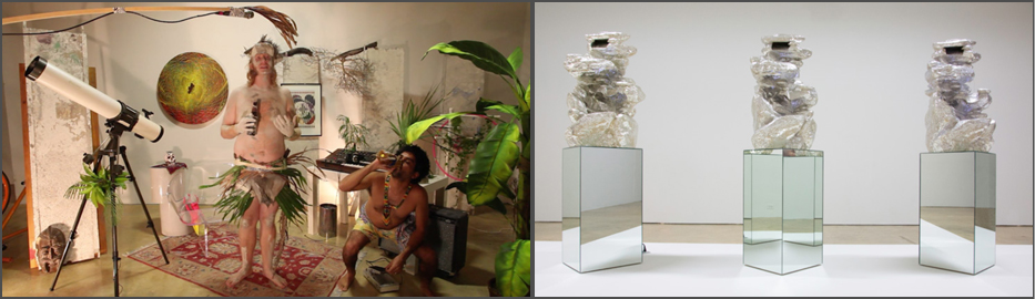 Opalka and Montoya:  Two Installation Views.  Courtesy of Emerson Dorsch Gallery