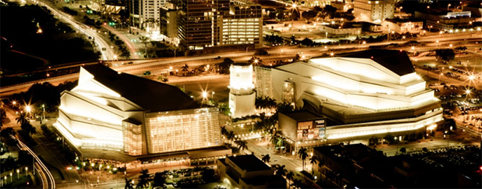 Miami's Performing Arts Center, 2006 Courtesy of the Adrienne Arsht Center for the Performing Arts of Miami-Dade County. (See www.arshtcenter.org/About-Us/Facts--History)