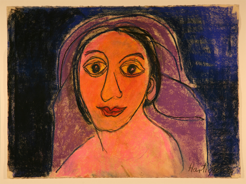 Grace Hartigan, Picasso Woman, 2007. Pastel on paper. 34.5 x 27 inches. Photo used with permission of Rex Stevens.