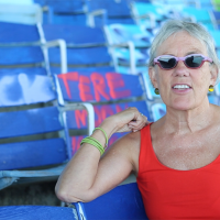 Margi Reeve — Curator, Writer, Communications Director:  A Video Chat in Miami Marine Stadium