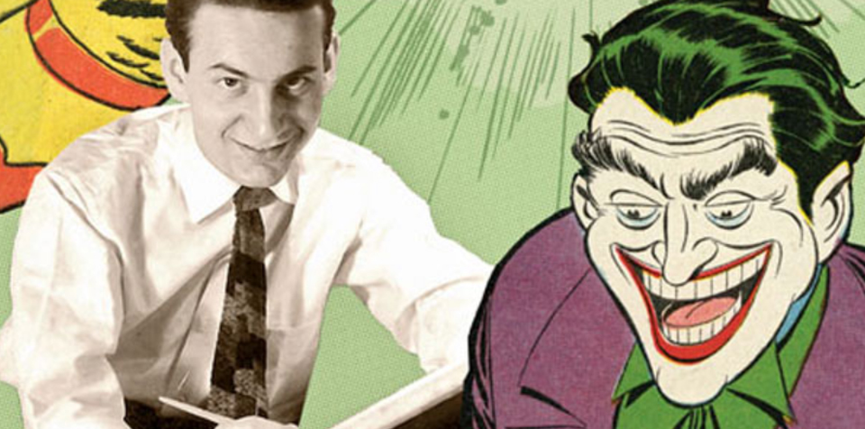 Jerry Robinson and his startling invention -- The Joker