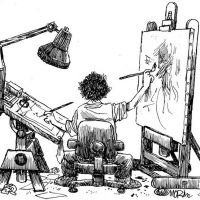 A Video Chat with Multi-Pulitzer Prize-Winning Political Cartoonist Jim Morin