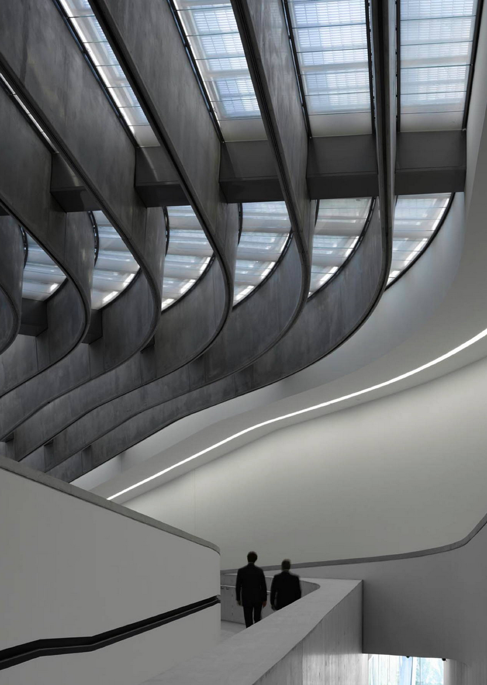 MAXXI: Museum of XXI Century Arts, Rome, Italy. Courtesy: Zaha Hadid Architects.