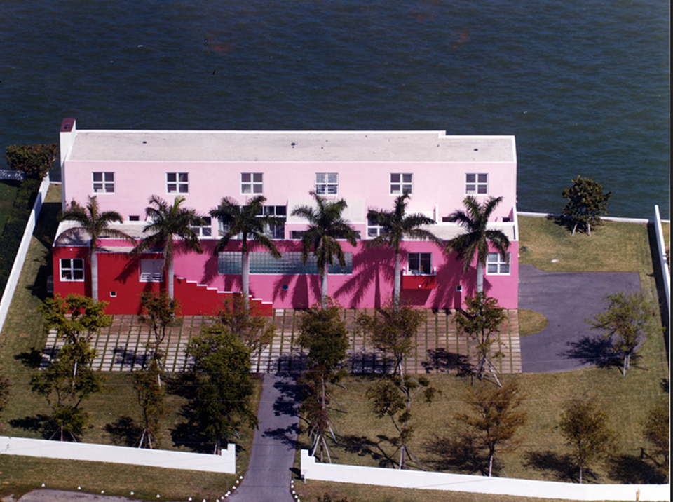 The Pink House. Courtesy: Arquitectonica.