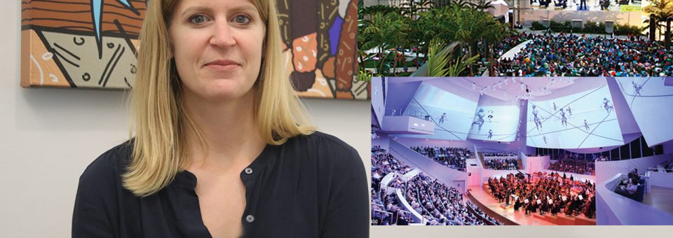 Cassidy Fitzpatrick, VP for Musician Advancement at the New World Symphony