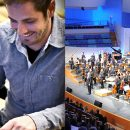 Justin Trieger at the New World Symphony
